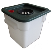 Eco Flo Desktop Hydroponics Unit Version 2.0 (Four Quart-DWC)