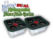 Bentley's Dual Hydroponics Home Herb Garden Bundle
