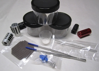 How to clean compensators using the compensator cleaning kit is fast and easy.